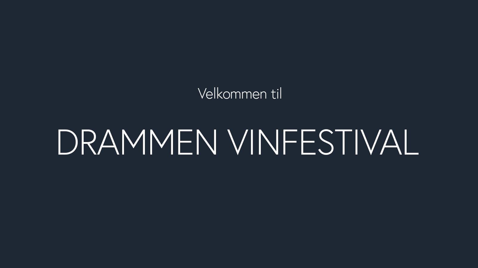 Drammen Vinfestival