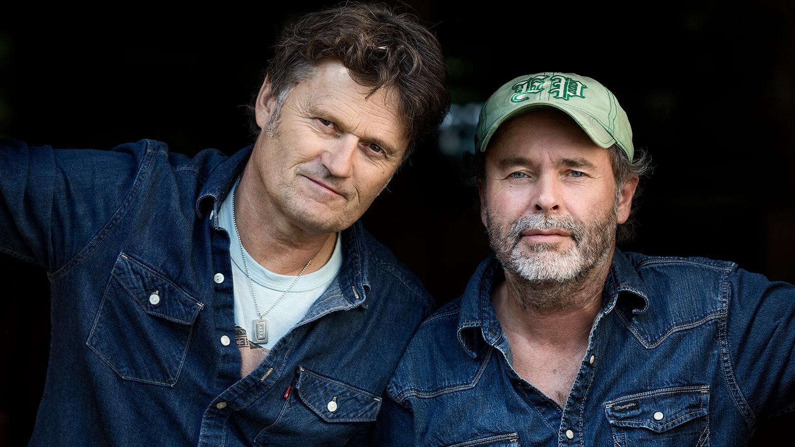 Henning Kvitnes og Poul Krebs