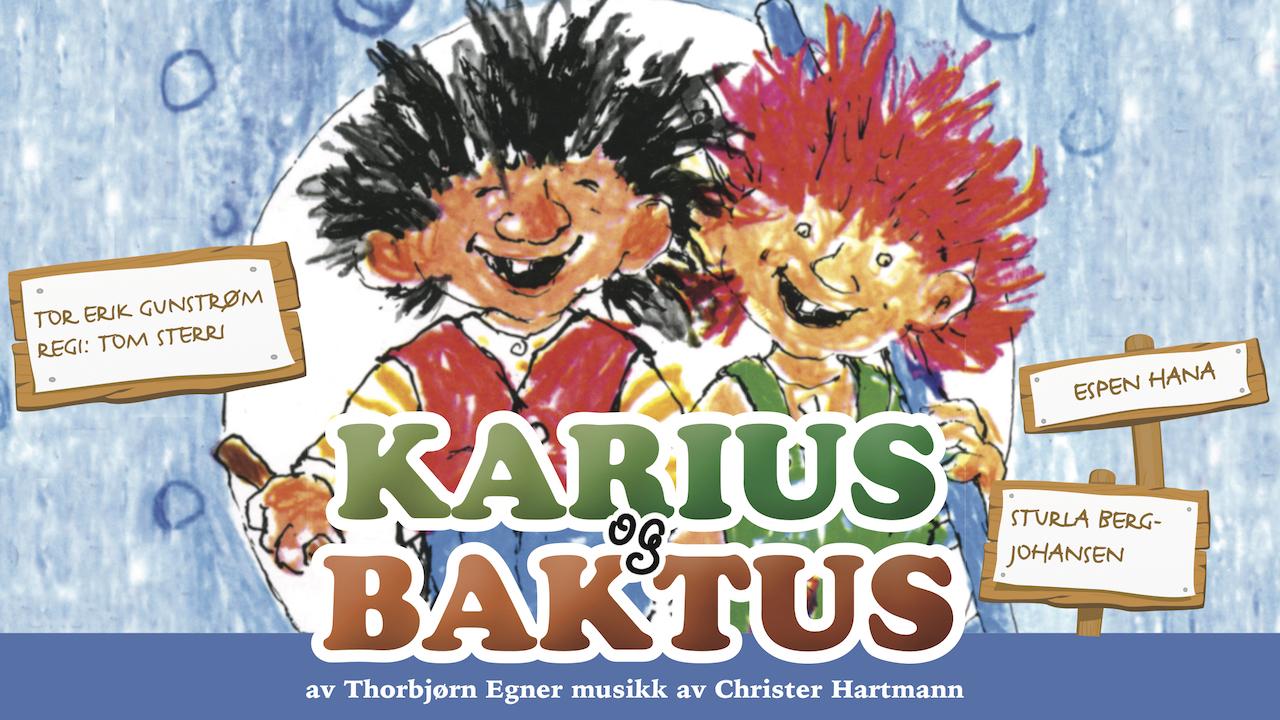 karius og baktus kostyme