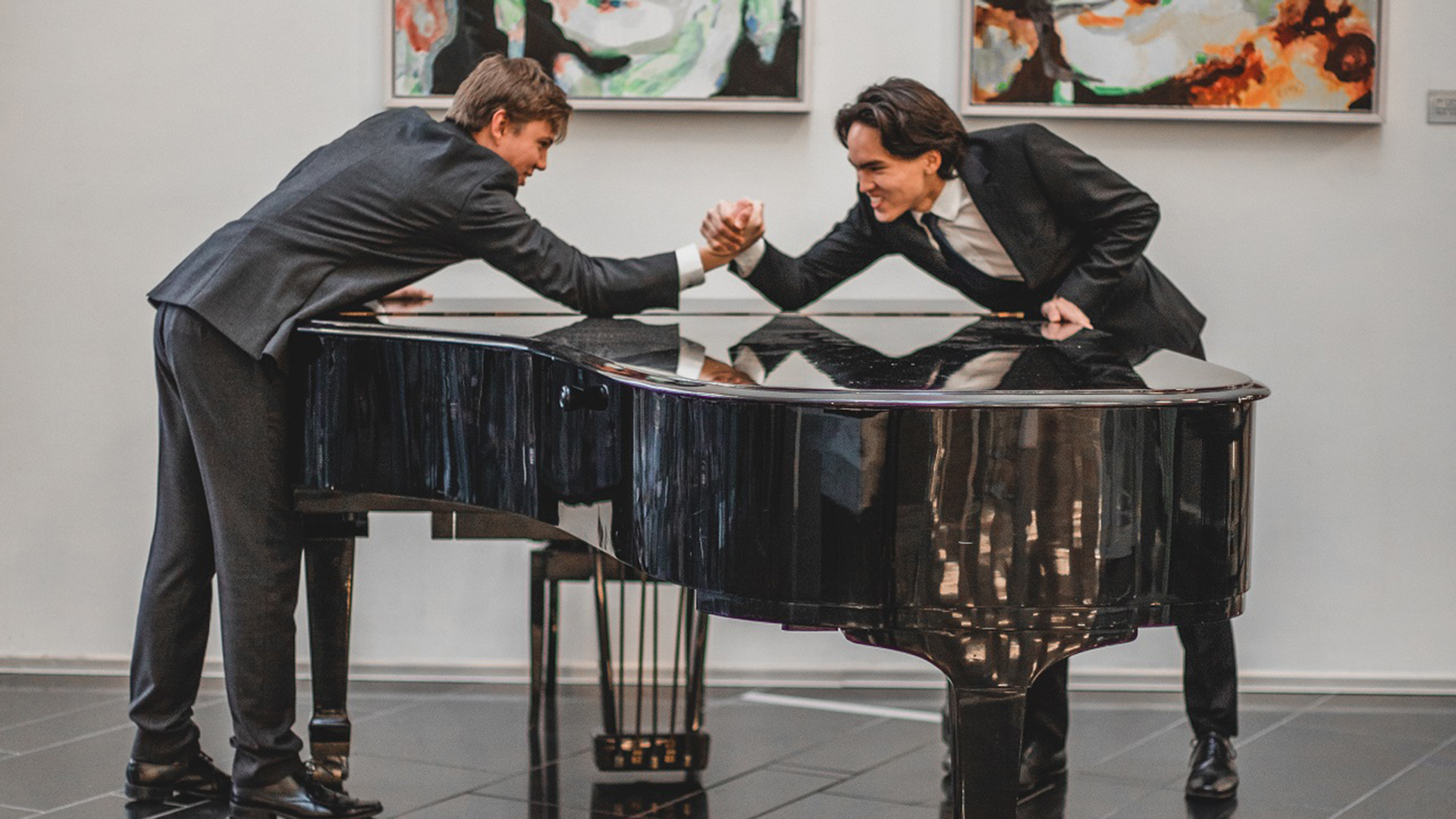 Pianoduell!