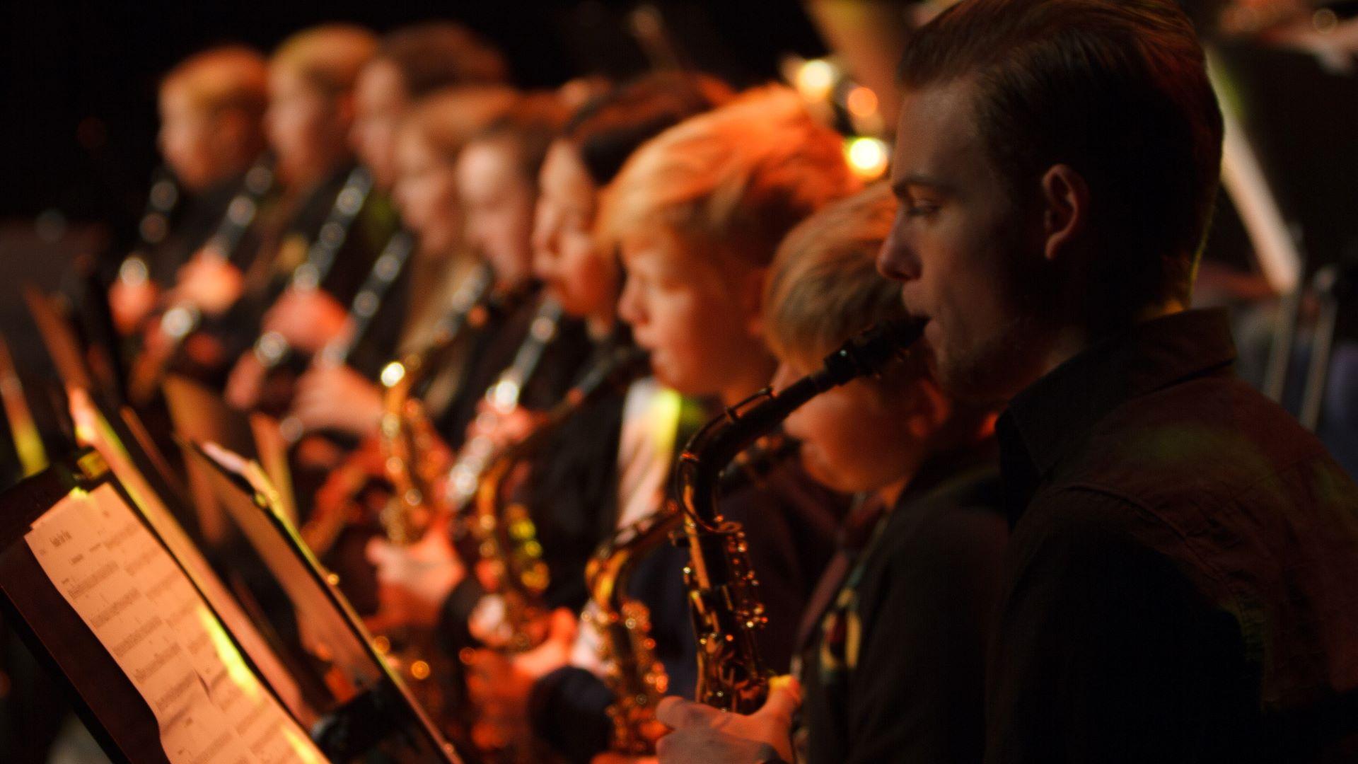 Grav, Jar og Lysaker skolekorps in Concert